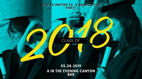 Celebrating Graduation Video Template Digitalanzeige (16:9)