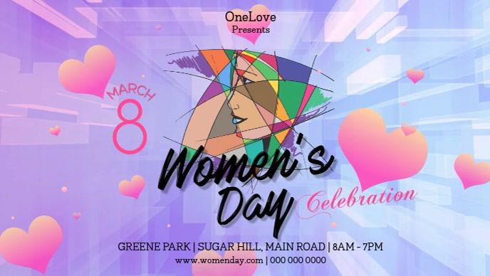 Celebrating International Women's Day Facebook Cover Video