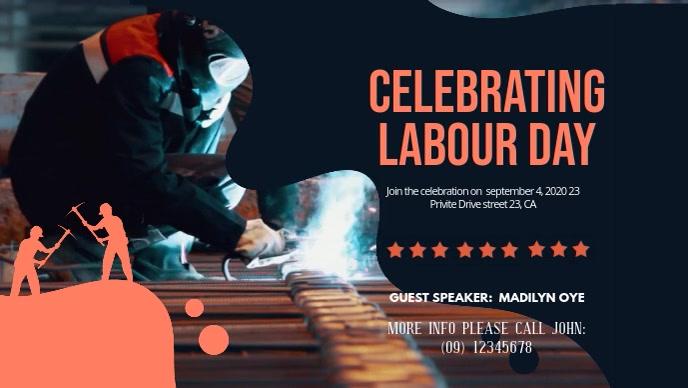 Celebrating Labor Day Digital Display Video