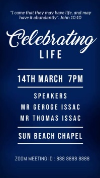 celebrating life Instagram Story template