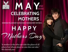 CELEBRATING MUM'S FLYER TEMPLATE