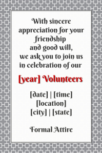 Celebration Dinner volunteers retail invite small business
