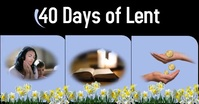 celebration of lent/pascua/easter/inspiration Facebook Event Cover template