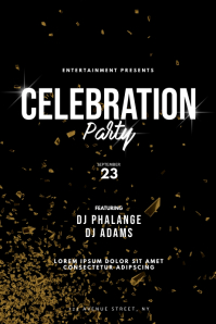 Celebration Party Flyer Design Template