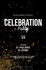 Celebration Party Flyer Design Template