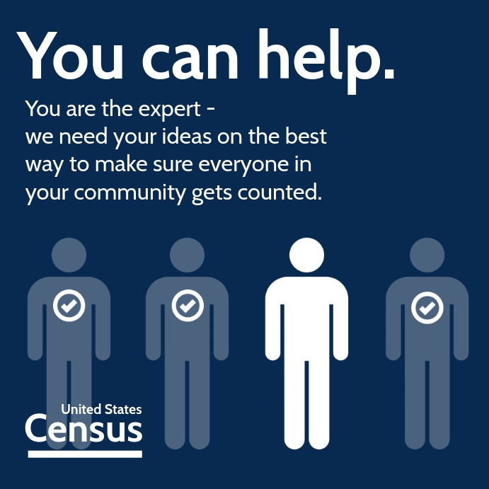 Census Community Count Template Cuadrado (1:1)