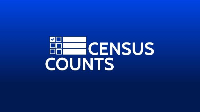 Census Counts 2020 Template Vidéo de couverture Facebook (16:9)