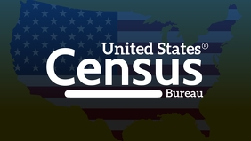Census United States Community Template Видеообложка профиля Facebook (16:9)