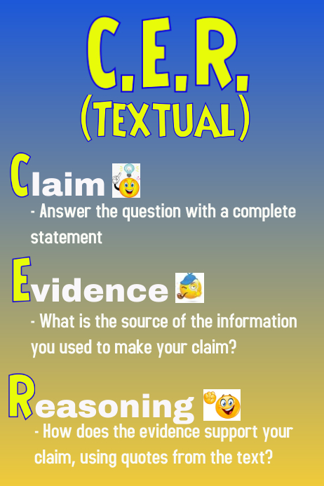 CER for Science using Text