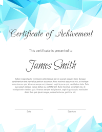 340 Customizable Design Templates For Certificate Postermywall