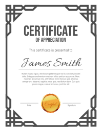 290 customizable design templates for certificate postermywall