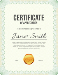 280 customizable design templates for certificate postermywall