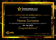 Certificate of Appreciation 2021 Template A4