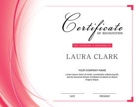 Customizable Design Templates for Certificate Appreciation ...