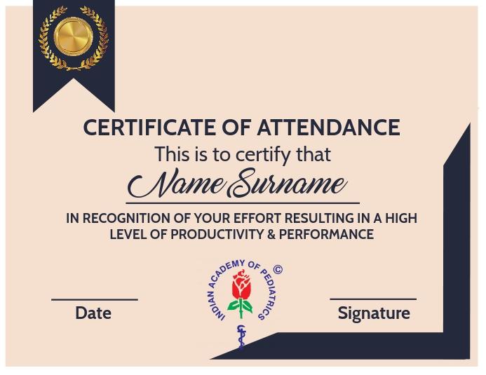 Certificate Of Attendance Template from d1csarkz8obe9u.cloudfront.net