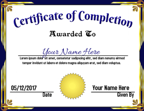 500+ Certificate Customizable Design Templates | PosterMyWall