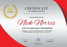 Certificate Template