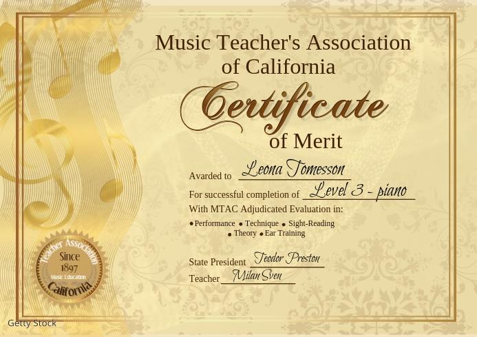 certificate51 A4 template