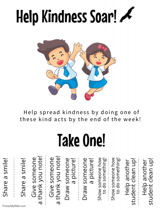 The Kindness Challenge Flyer 2