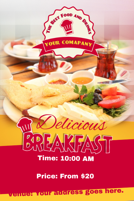 Breakfast Poster Template