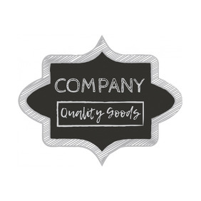 Chalkboard Business Logo