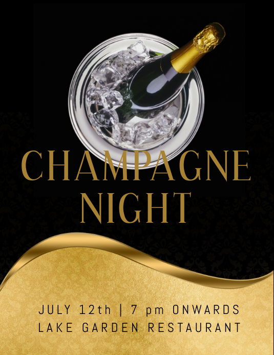 champagne night