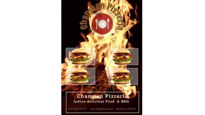Pizzeria Digitale Vertoning (16:9) template