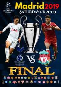 Champions League final Poster