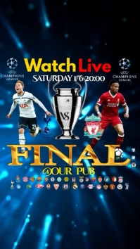 Champions League final video