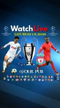 Champions League final video template