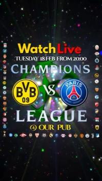 Champions League Instagram