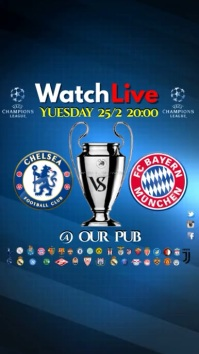 Champions League video Digitale Vertoning (9:16) template