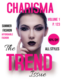 create free and fabulous magazine covers postermywall