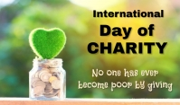 Charity Day Tag template