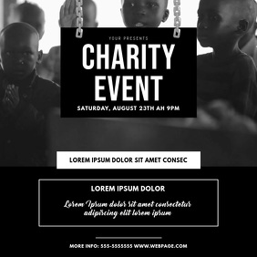 Charity Donation Event Video Design Template