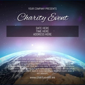 Charity Event Pos Instagram template