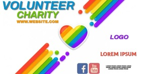 CHARITY EVENT facebook share TEMPLATE