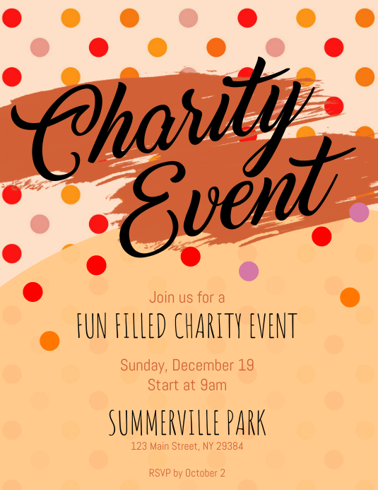 Charity Event Flyer