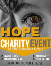 Charity flyers,Event flyers
