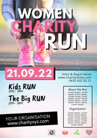 Charity Fun Run Challenge Marathon Running