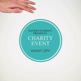 Charity fundraiser Event Flyer Template