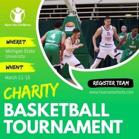 Charity Fundraiser Sport Event Tournament Square Video