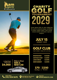Charity Golf Tournament Flyer