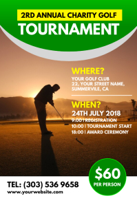golf outing flyer template free