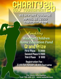 Charity Golf Tournament Template