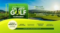 Charity Golf Tournament Twitter Post Iphosti le-Twitter template