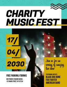 Charity Music Fest Flyer