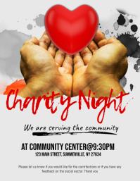 Charity Night Flyer