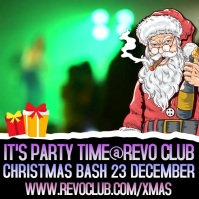 ChChristmas Party Night Event Video Template