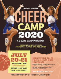 Cheer Camp Flyer Template